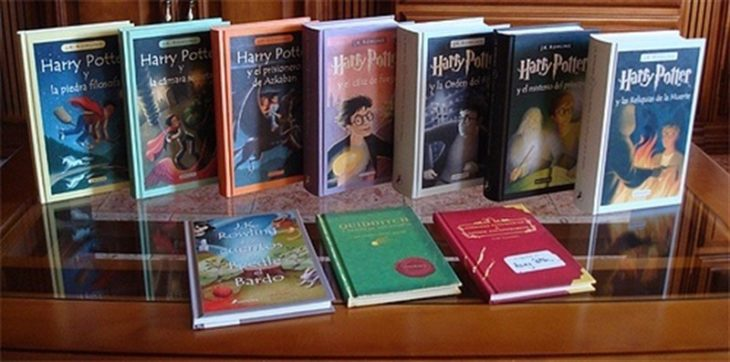 libros saga de harry potter