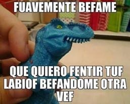fuavemente tiranosaurio rex
