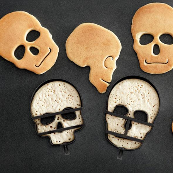 galletas en forma de cráneos