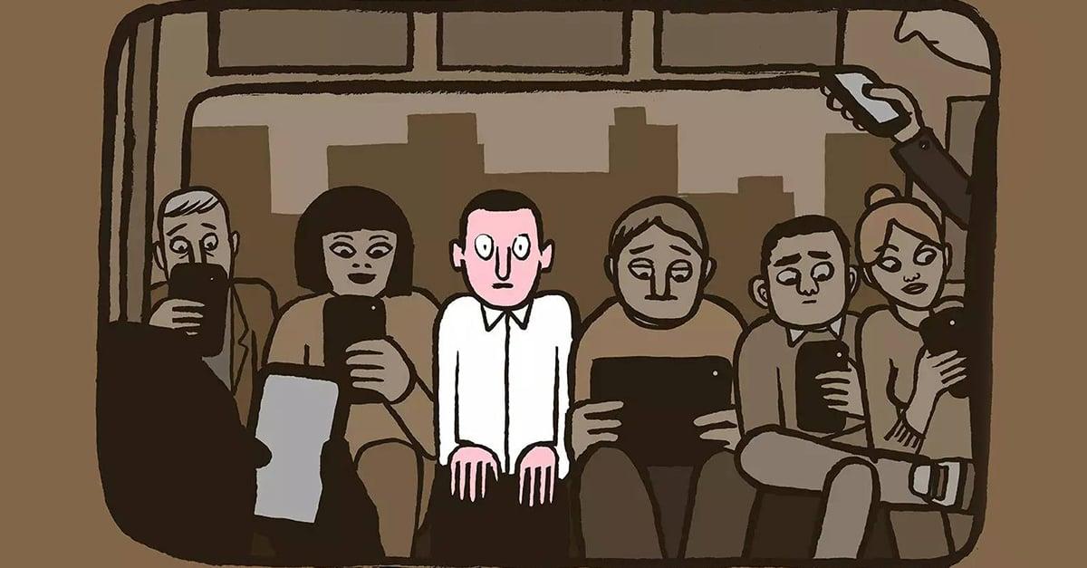 Estas ilustraciones demuestran que vivimos en un silencio inquietante