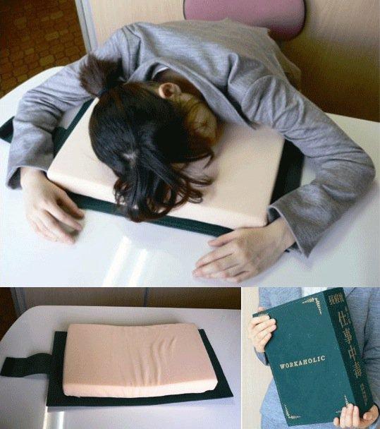 almohada libro