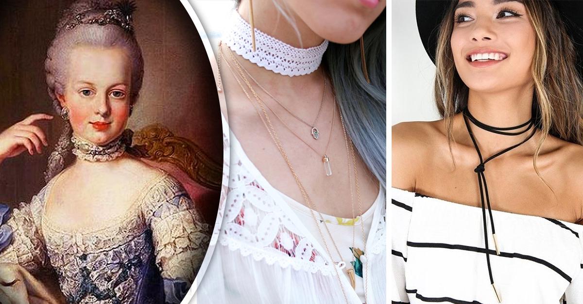 Tu accesorio de moda favorito tiene símbolo de poder; conoce la historia del choker