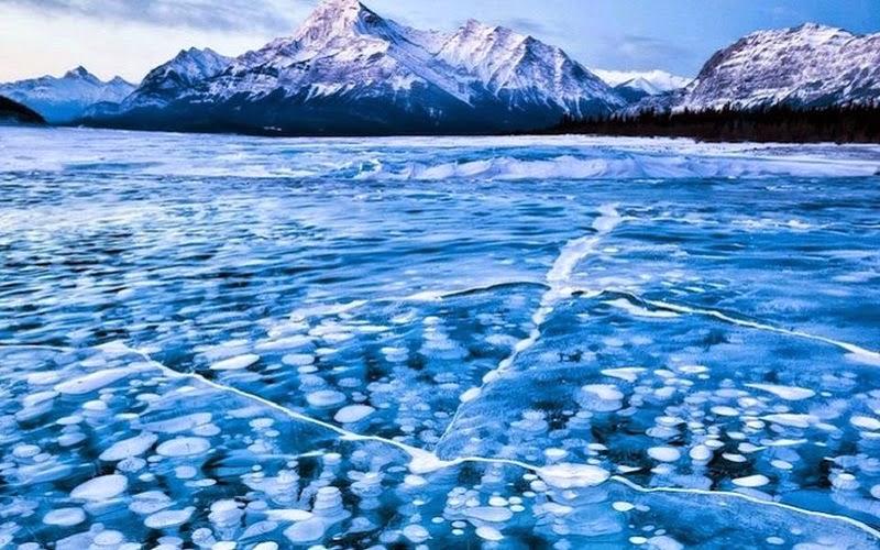 lago abraham, canadá
