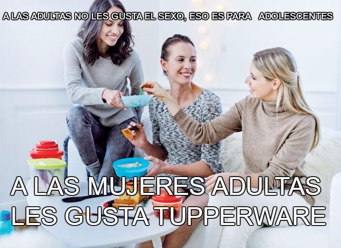 les gusta tupperware