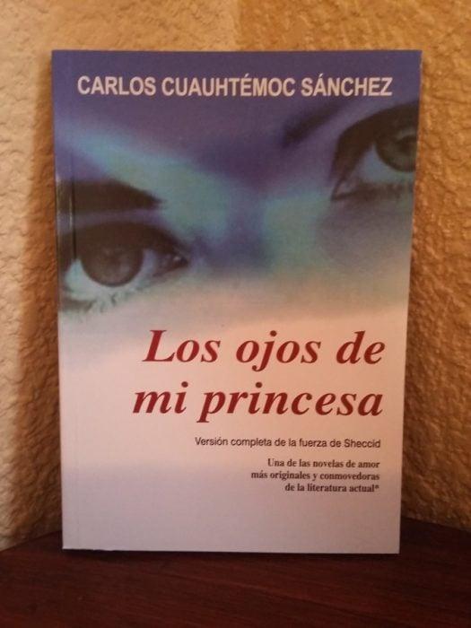 Libro portada los ojos de mi princesa