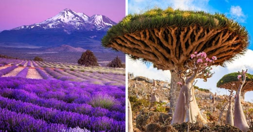 30 Impactantes lugares que no creerás que existen en la Tierra