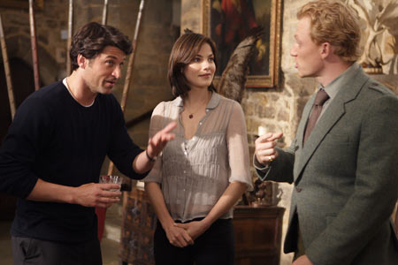 made of honor conoce al novio