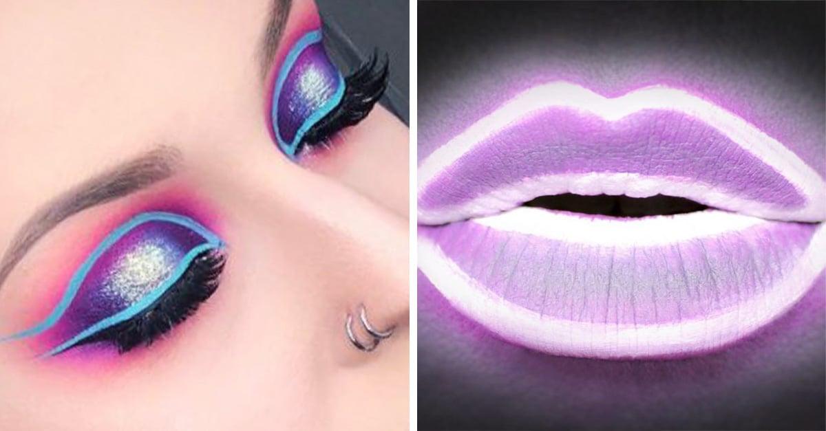 Maquillaje neón, la nueva tendencia que está enloqueciendo a Instagram