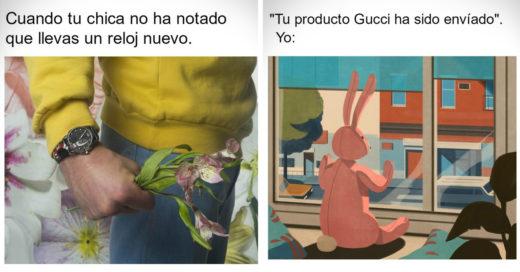 La nueva campaña de Gucci lleva la mercadotecnia a otro nivel: ¡Con memes!