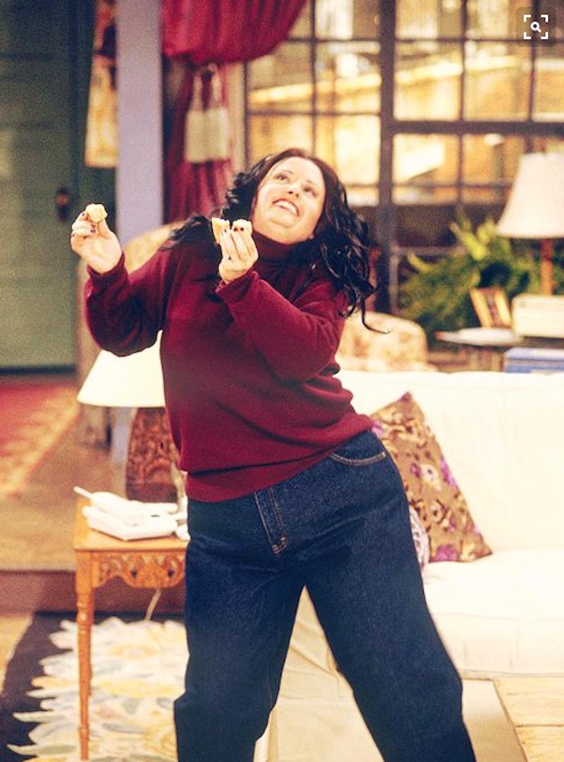 monica gorda bailando