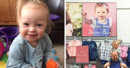 Lilly, la modelo de 2 años con síndrome de Down que rompe con los estereotipos