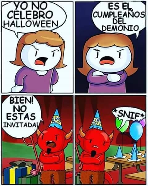 no festerjo el cumpleaños de satanas