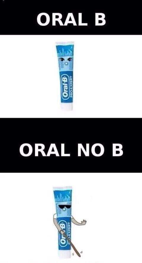 oral b oral no b