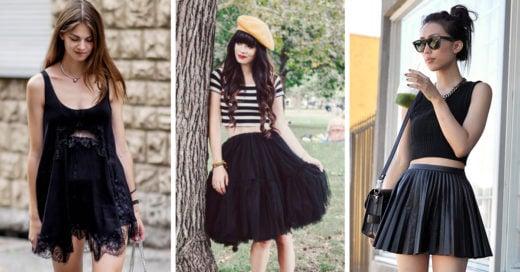 20 opciones para vestir de negro en el verano