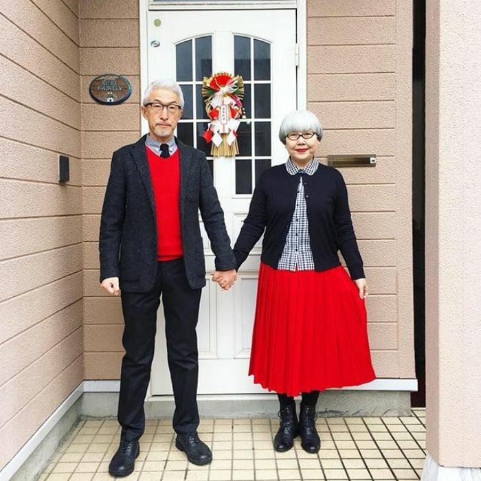 pareja japonesa 37 años