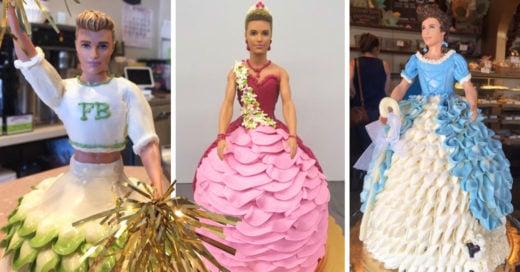 Esta extraña pastelería está obsesionada con Ken y ahora nadie recuerda a Barbie