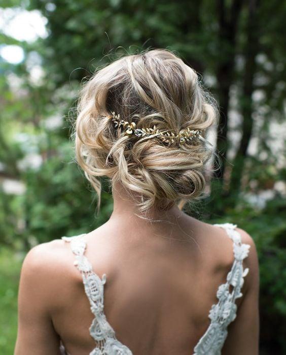 15 Sencillos Peinados Estilo Boho Que Amaras Usar Primavera - Peinados-de-novia-originales