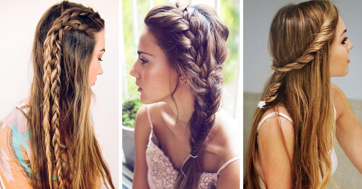 Hermosos peinados estilo boho que todas queremos para esta primavera