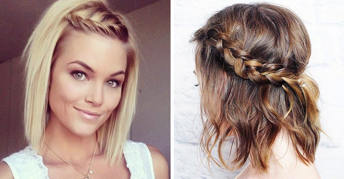 15 peinados f ciles de hacer para chicas con cabello corto - Como hacer peinado para boda ...