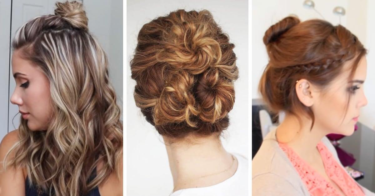 15 peinados que puedes hacer en 5 minutos... ¡Son ideales si odias peinarte!