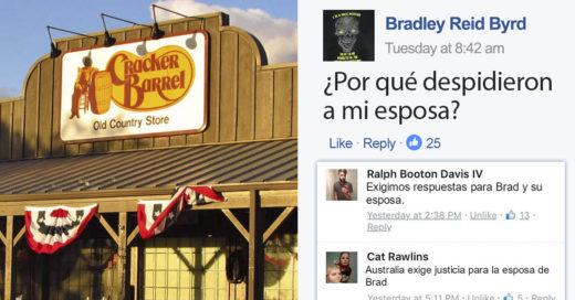 Preguntó en Facebook por qué despidieron a su esposa... y todo se salió de control