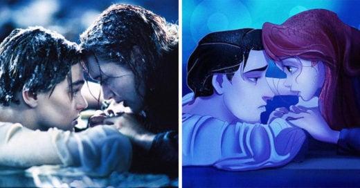 Así lucirían las princesas Disney si fueran parte de 'Titanic'