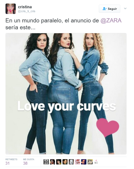 captura de pantalla twitter mujeres
