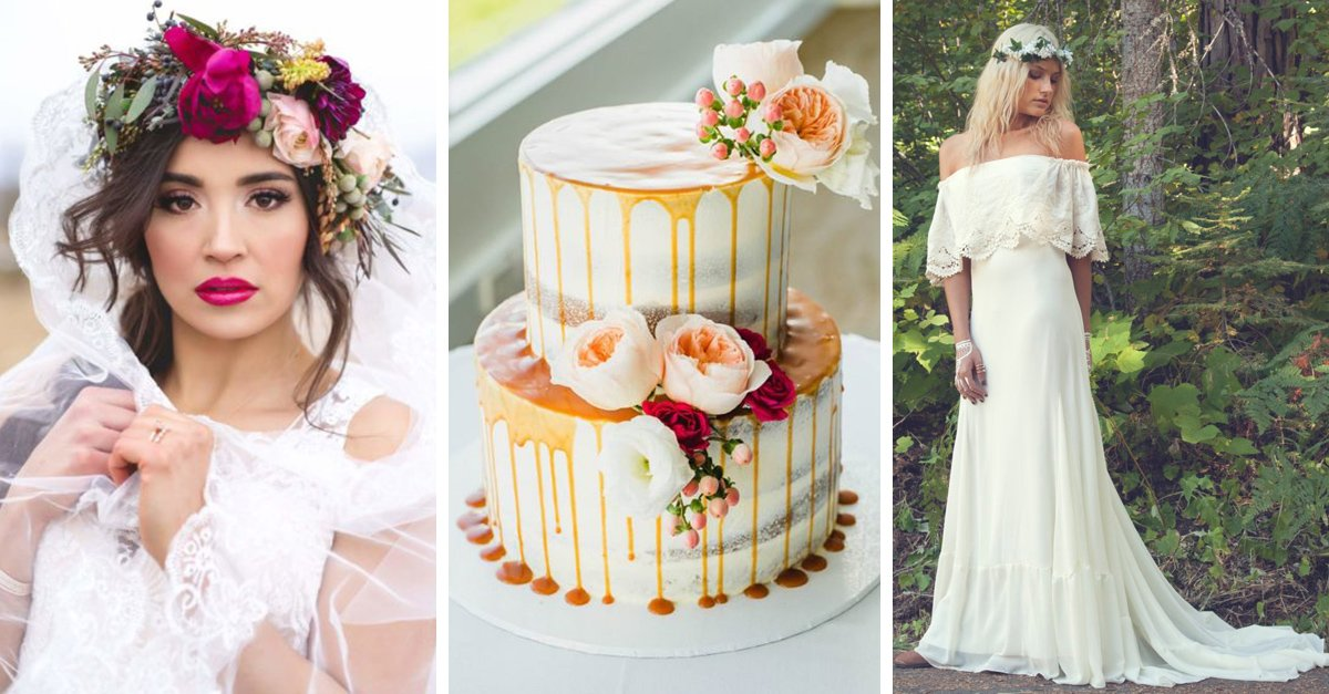 15 Increíbles tendencias para bodas que todas las novias amarán este 2017