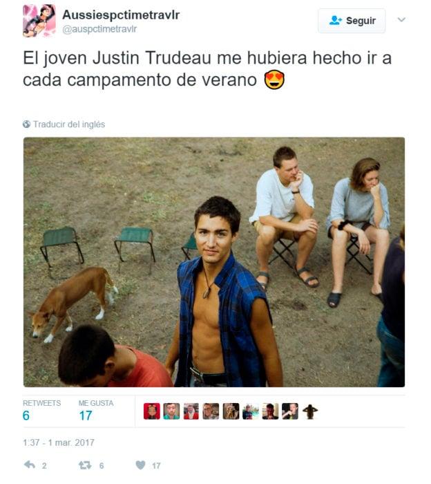 primer ministro de Canadá joven