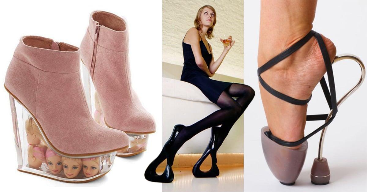 5 diseños de zapatos que son extremadamente horribles