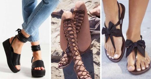 15 tipos de sandalias que necesitas comprar ahora mismo