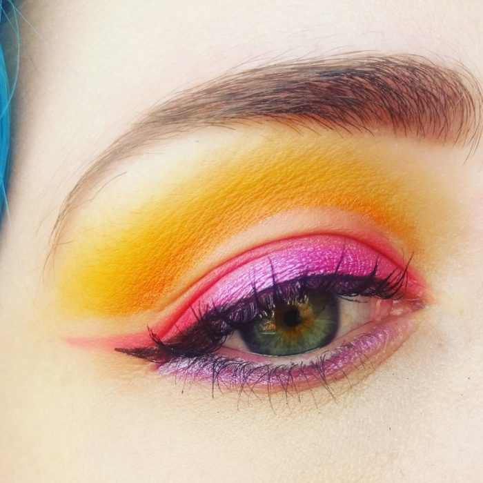 sunset make up inspiración