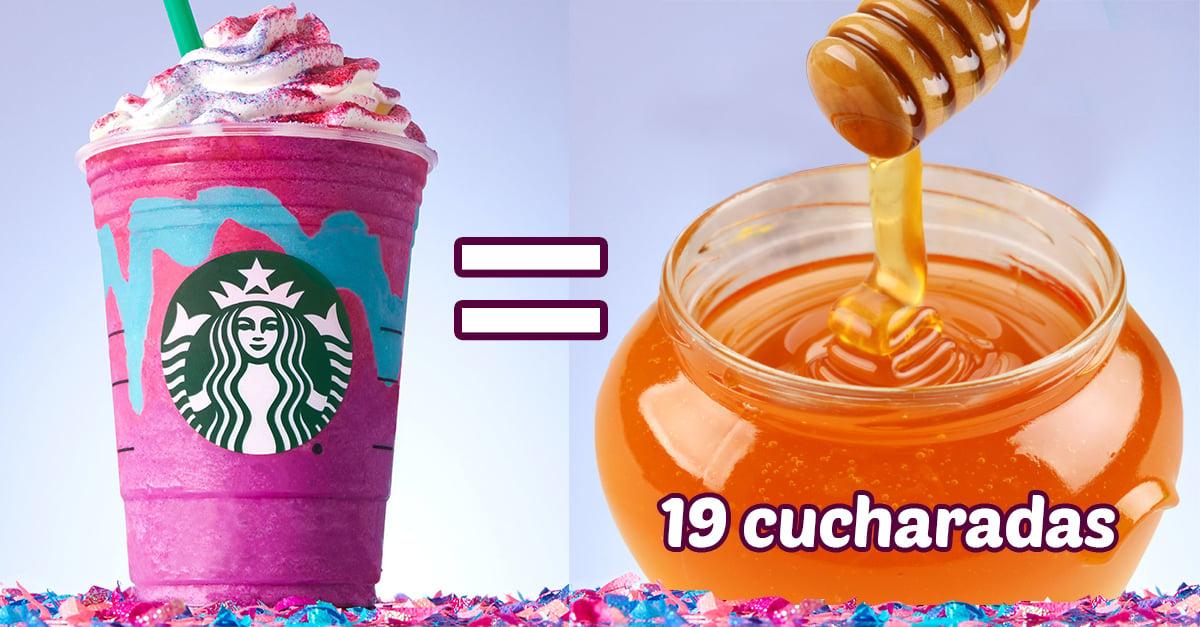 18 Cosas que tienen las mismas calorías que un Unicorn Frappuccino