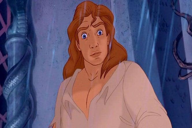 hombre rubio de ojos azules caricaturas