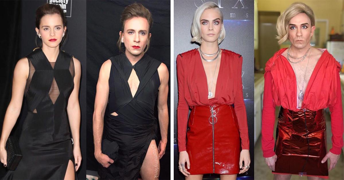 25 Imágenes de artistas recreadas por ex actor de 'Buffy, la Cazavampiros'
