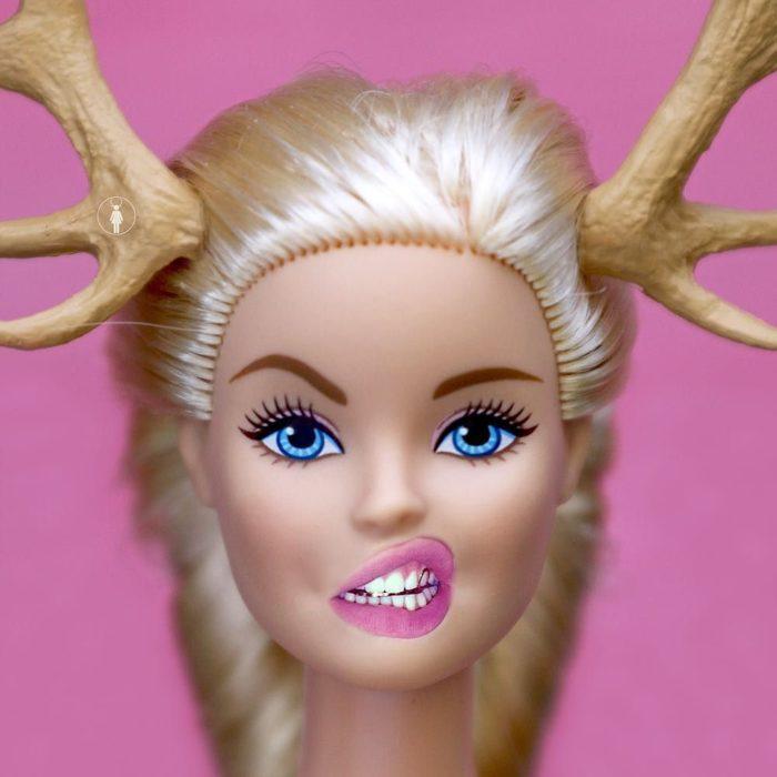 Barbie creada por una artista sudafricana