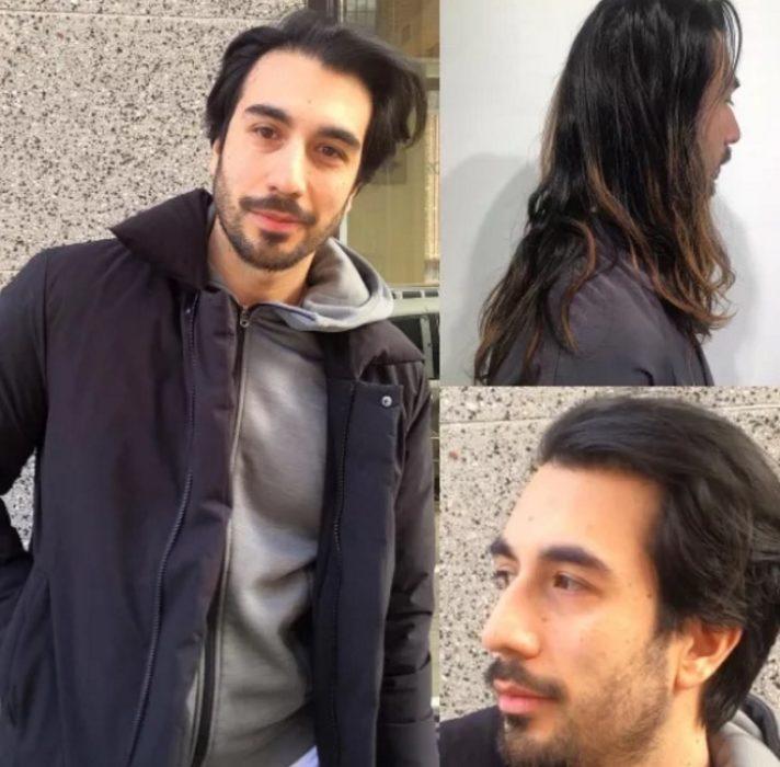 chico cabello largo
