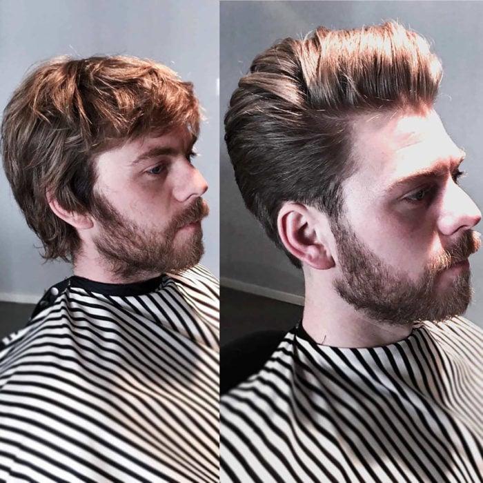 corte de cabello hipster