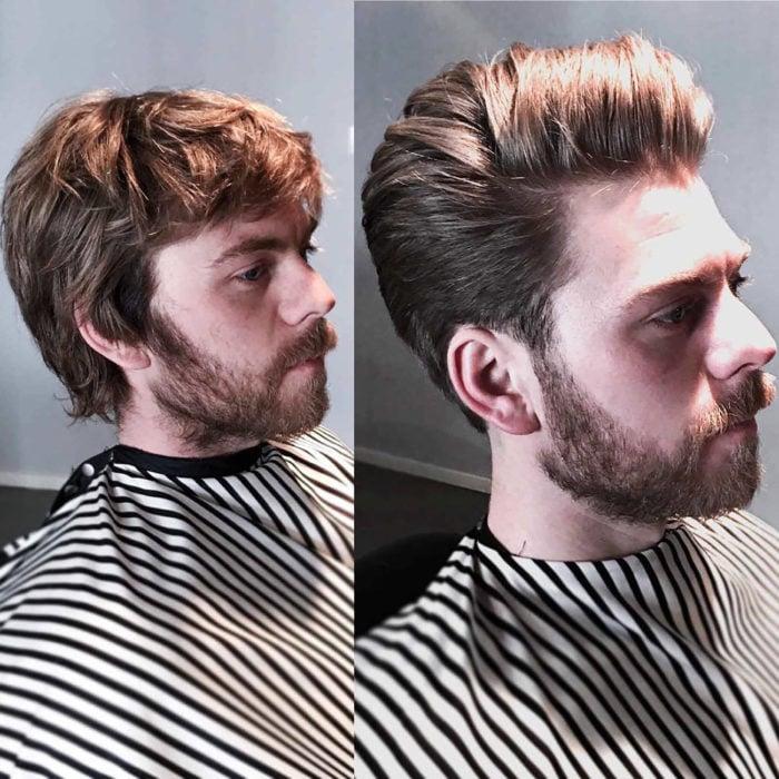 Como cambiar mi peinado de hombre