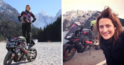 Conoce a Nikki, la mujer que recorre el mundo en su motocicleta