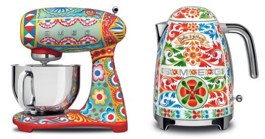 'Dolce & Gabbana' y 'Smeg' presentan los electrodomésticos que le darán un aire italiano a tu cocina