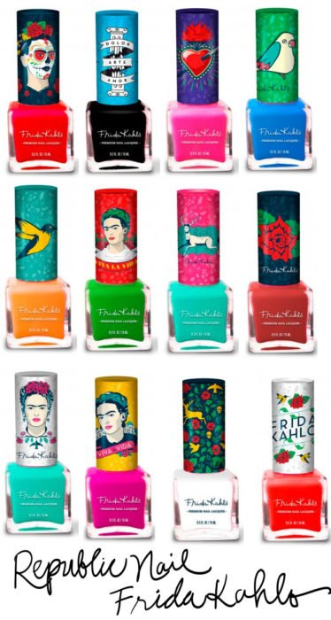 Esmaltes Frida Kahlo
