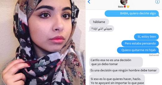 Esta chica fue severamente agredida solo por ser musulmana