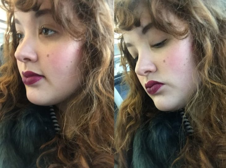 Bloggera colombiana Marie Southard Ospina tomándose fotos desde un ángulo diferente