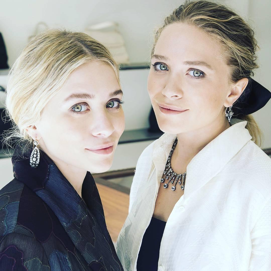 Las gemelas Olsen, de bebés tiernas a símbolos de la moda