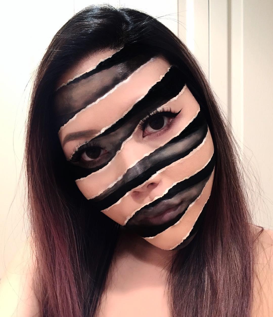 Artista Del Maquillaje Crea Ilusiones ópticas Sorprendentes
