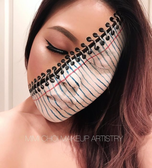 Ilusión óptica maquillaje