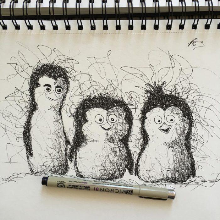 pinguinos de madagascar
