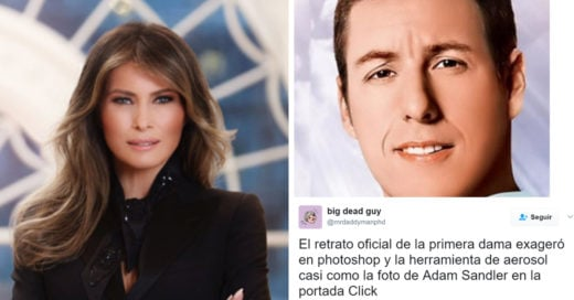 Internet vuelve meme la primer imagen de Melania Trump como primera dama
