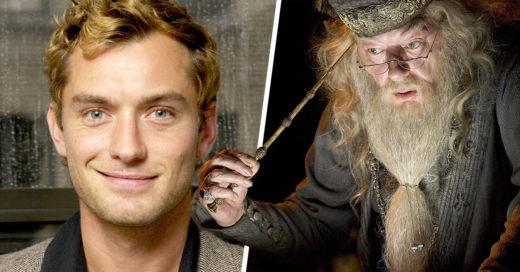 Jude Law será el joven Albus Dumbledore en 'Animales fantásticos y dónde encontrarlos'